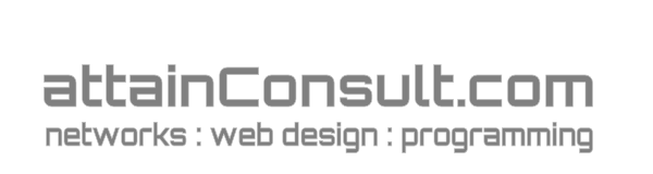 Logo Attain Computer Consultants